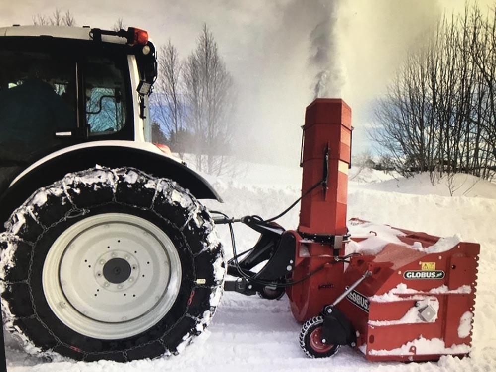 Bestilling av snøbrøyting av hytteveien din for vinteren 2020/2021